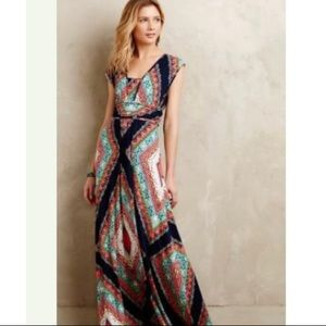Anthro Maeve Verda Maxi Dress (size S)
